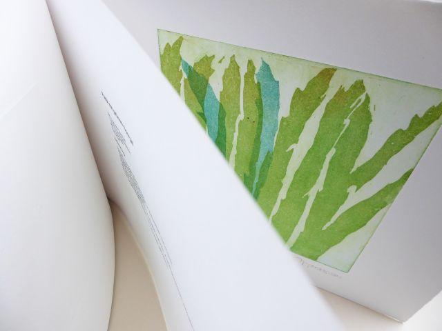 Spargel (aus dem Kochbuch mit der Gruppe ätzend), Aquatinta, 2007, 2 Platten, je 20x20cm
