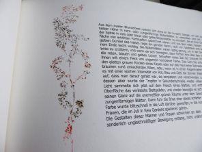 Virginia Woolf, Kew Gardens 1, Künstlerbuch mit Radierungen in verschiedenen Techniken, 2007