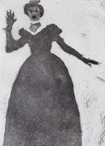 Aquatinta, Kaltnadel, 2019, 20x15cm